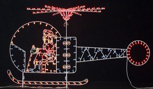 Santa's Small Helicopter