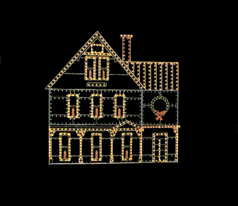 House of Christmas Lights